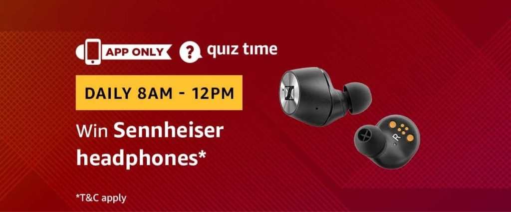 Amazon Quiz Time Daily - Today's Answers [14th-March-2019]