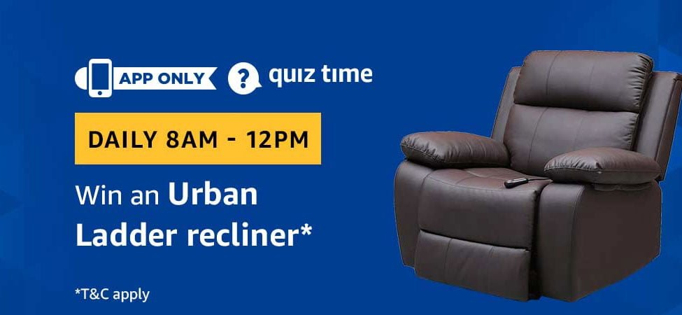 Today's Amazon Quiz Answers - [19 May 2019 Daily Quiz]