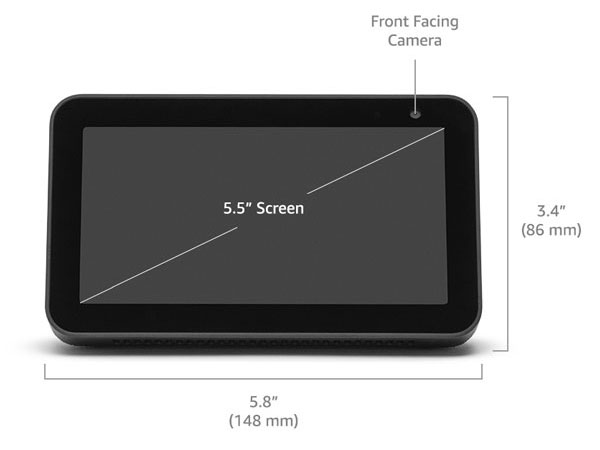 Echo Show 5 Specs: The Display and Camera