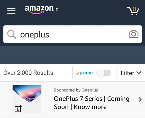 Search Results for Amazon OnePlus Quiz May, 2019