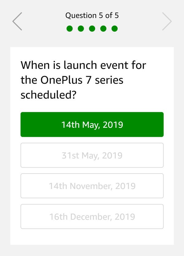 When is launch event for the OnePlus 7 series scheduled?