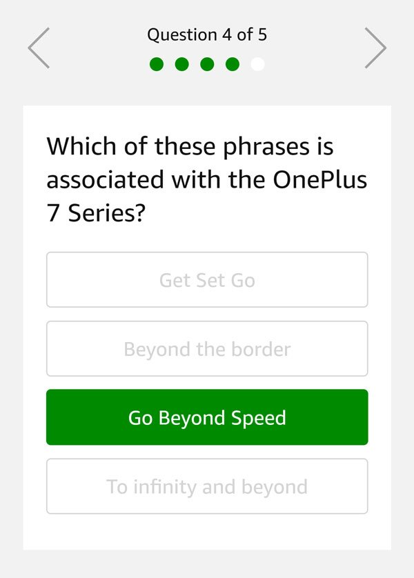Which of these phrases is associated with the OnePlus 7 Series?