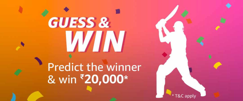 Amazon Guess And Win (Win ₹20,000 (5 June 2019)