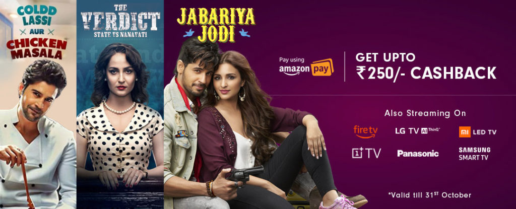 ZEE5 Offer - 20% Off + Up To ₹250 Amazon CB