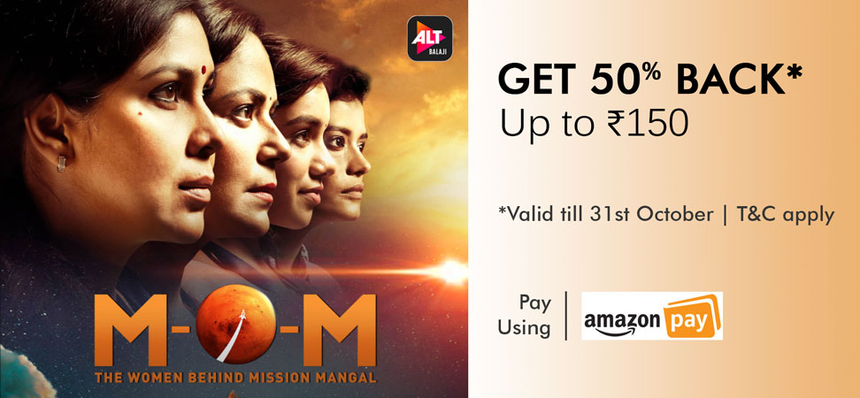 Amazon Pay ALTBalaji Offer - 50% Cashback Up To ₹150 [Till 31st Oct 2019]