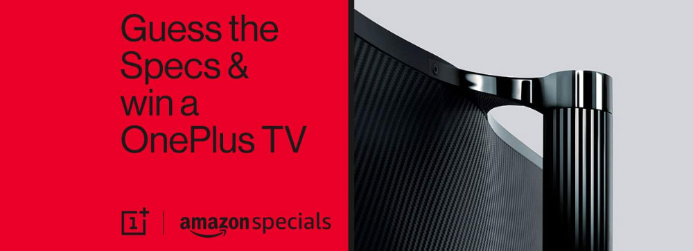 Amazon Guess The Specs And Win OnePlus TV