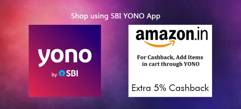 Amazon YONO SBI Offer - Extra 5% CB