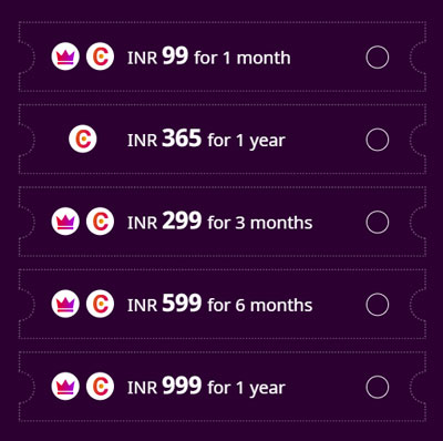ZEE5 Subscription Plans