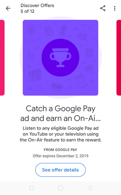 Tap on the LISTEN NOW button to start Ad detection