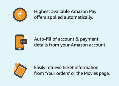 Book Movie Tickets On Amazon