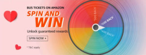 Bus On Amazon Spin And Win