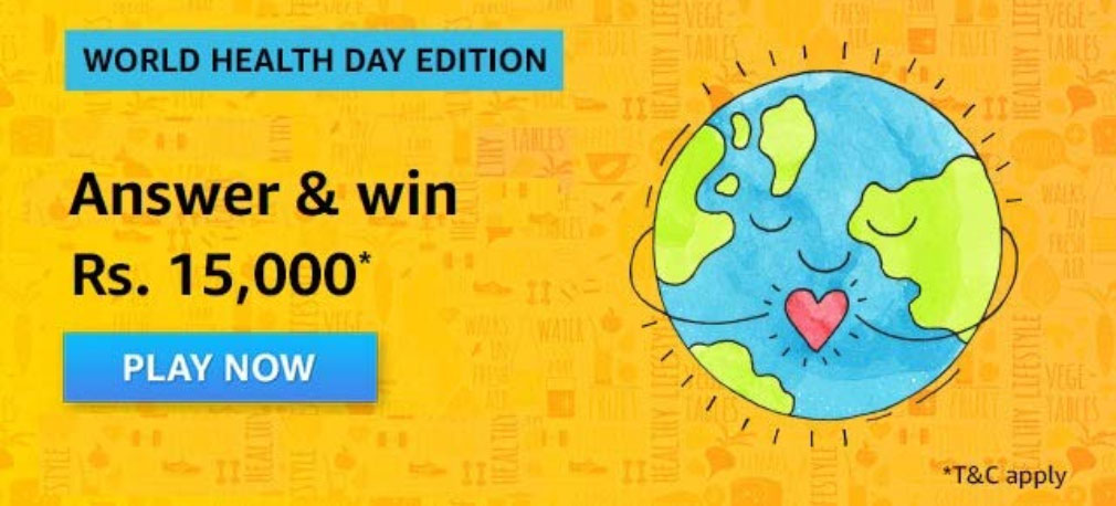 World Health Day Quiz Answers - Win Rs.15,000