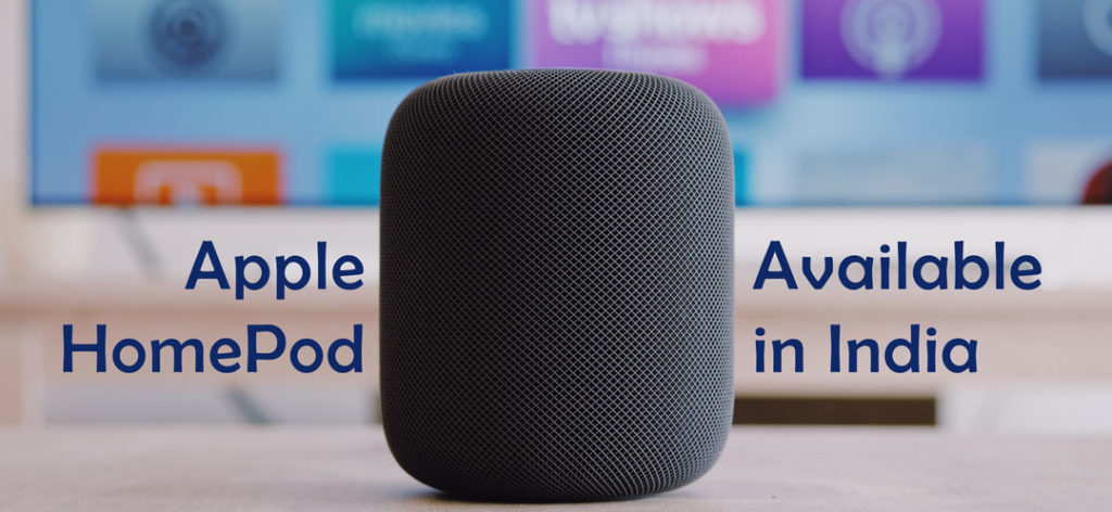 Apple HomePod Smart Speaker For India